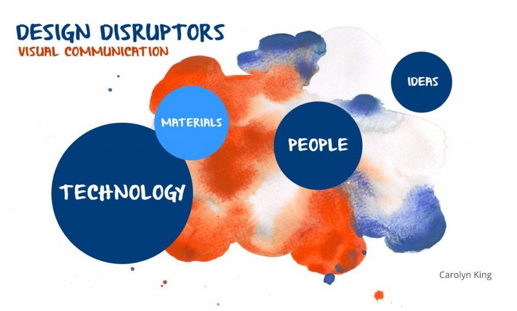 Presentation - Design Disruptors in visual communication